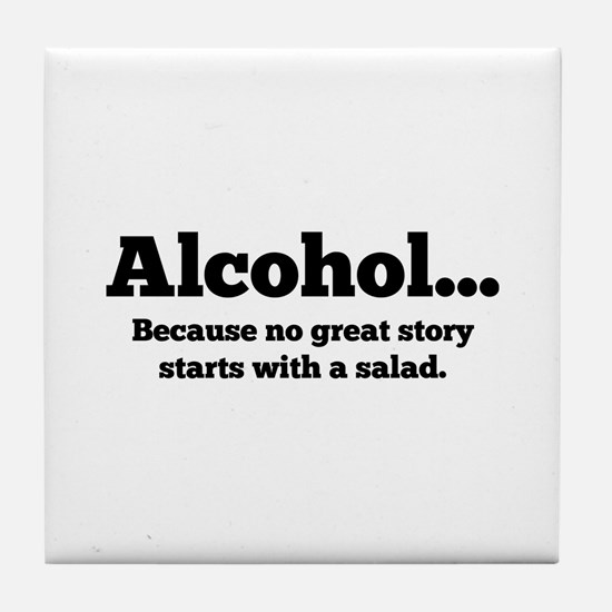 Alcohol Tile Coaster