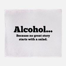 Alcohol Stadium Blanket
