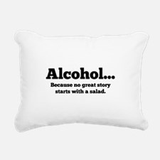 Alcohol Rectangular Canvas Pillow