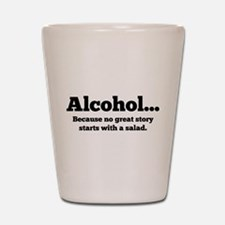 Alcohol Shot Glass