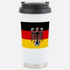 German Soccer Flag Stainless Steel Travel Mug