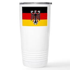 German Soccer Flag Travel Mug