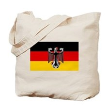German Soccer Flag Tote Bag
