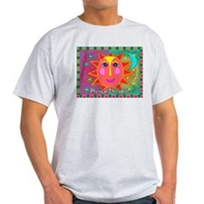 physical therapist sun moon T-Shirt