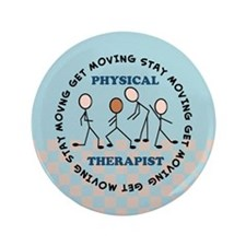 "physical therapist pillow 2 3.5"" Button"