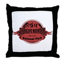 guadalupe mountains 1 Throw Pillow