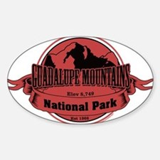 guadalupe mountains 3 Decal