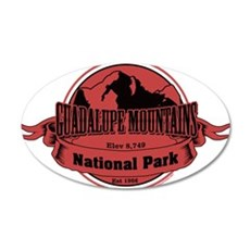 guadalupe mountains 3 Wall Decal