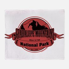 guadalupe mountains 3 Throw Blanket
