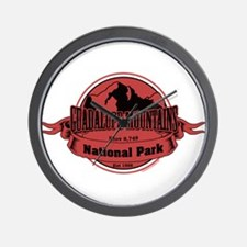 guadalupe mountains 3 Wall Clock