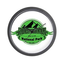 guadalupe mountains 5 Wall Clock