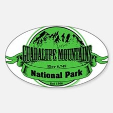 guadalupe mountains 2 Decal