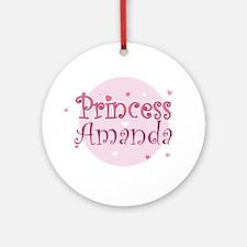 Amanda Ornament (Round)