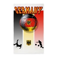 Germany Football 3'x5' Area Rug