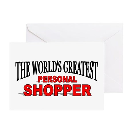 """The World's Greatest Personal Shopper"" Greeting C"