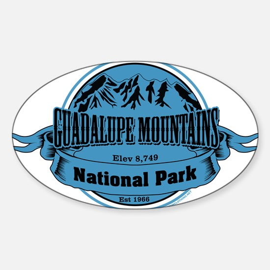 guadalupe mountains 1 Decal