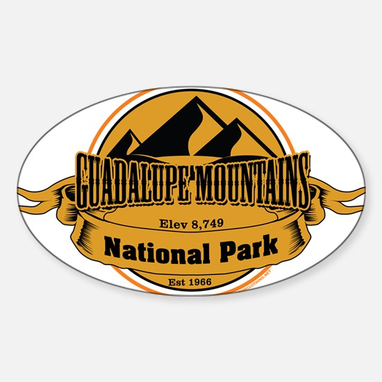 guadalupe mountains 5 Decal