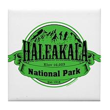 haleakala 2 Tile Coaster