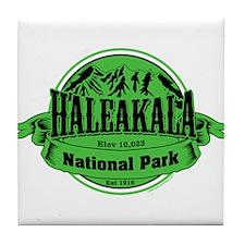 haleakala 1 Tile Coaster