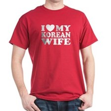 I Love My Korean Wife T-Shirt