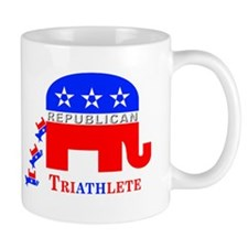 Republican Innuendo: TriAthlete Small Mug
