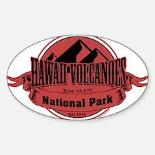 hawaii volcanoes 5 Decal