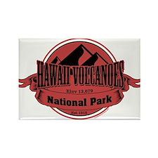 hawaii volcanoes 5 Rectangle Magnet