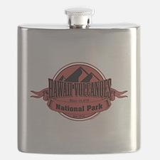 hawaii volcanoes 5 Flask