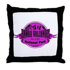 hawaii volcanoes 1 Throw Pillow