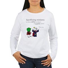 Xykon: Sacrificing minions Women's LS T-Shirt
