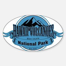 hawaii volcanoes 4 Decal