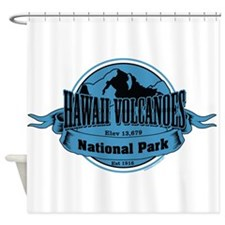 hawaii volcanoes 3 Shower Curtain