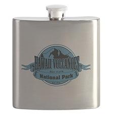 hawaii volcanoes 3 Flask