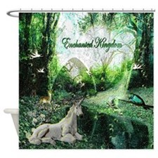 enchanted kingdom Shower Curtain