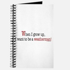 ... a weatherman Journal