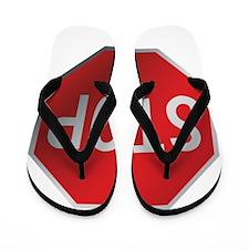 Stop Sign Flip Flops