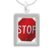 Stop Sign Necklaces