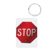 Stop Sign Keychains