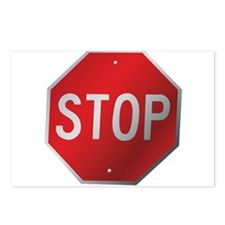 Stop Sign Postcards (Package of 8)