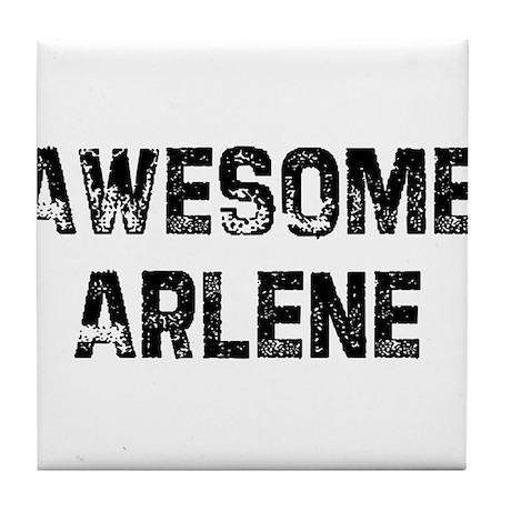 Awesome Arlene Tile Coaster