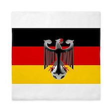 German Soccer Flag Queen Duvet