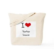 I love Tartar Sauce Tote Bag