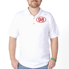 Number 98 Oval T-Shirt