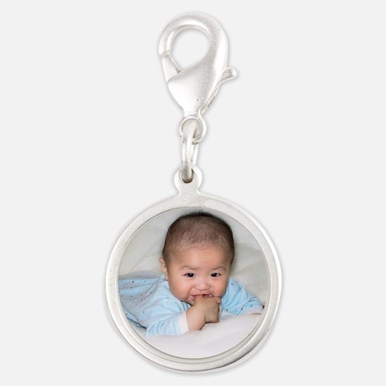 Add Your Photo Here Charms