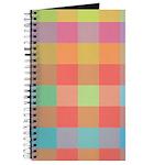 Checkered Pastel Gift Journal