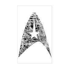 Vintage Star Trek Insignia Decal