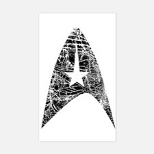 Vintage Star Trek Insignia Decal