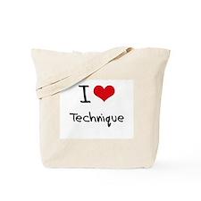 I love Technique Tote Bag