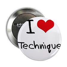 """I love Technique 2.25"""" Button"""