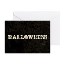 Halloween Text Greeting Cards (Pk of 10)